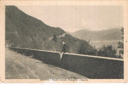 GHIFFA = NUOVA STRADA NOVAGLIO--DECCIO = 1933 - Verbania