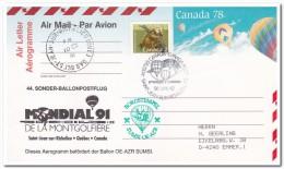 Canada 1991, Hot Air Balloon - Luchtballons