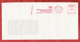 Briefdrucksache, Francotyp-Postalia B66-0748, DIN Deutsches Institut Fuer Normung, 80 Pfg, Berlin 1991 (71012) - Berlin (West)