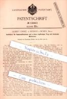 Original Patent - Robert Emmel In Merken B. Düren , Rhld. , 1901 , Stoffrührer Für Papierstoffholländer !!! - Historische Dokumente