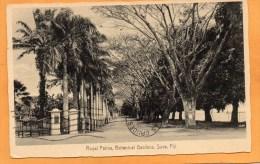 Suva Fiji 1937 Postcard Mailed To USA - Fidji
