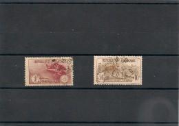 FRANCE  1930 N° Y&T :230/231 Oblitérés Côte: 63,50 €
