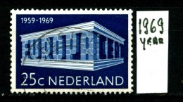 OLANDA - NEDERLAND - Year 1969 - Usato - Used. - Periodo 1949 - 1980 (Giuliana)