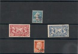FRANCE  1927 N° Y&T :244/246-248 Oblitérés