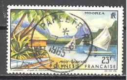Polynesie; Yvert A9°; Superbe Oblitération Centrale; Voir Scan - Gebruikt
