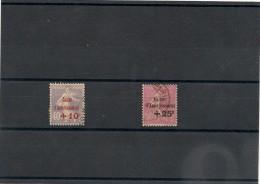 FRANCE  1928 N° Y&T :249/250 Oblitérés Côte: 40,00 €