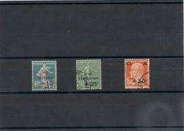 FRANCE  1927 N° Y&T :246/248 Oblitérés Côte: 30,00 €