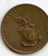 Philippines 1 Centavo 1945S - Philippinen