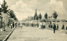 CPA 85 SAINT FLORENT LA ROUTE SAINT JEAN - Saint Florent Des Bois