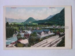 ST 57 Aussee Bahnhof Trainstation Ed E Brandt Gmunden - Austria