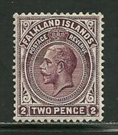 """Falkland Islands     """"King George V""""      SC# 32  Mint - Falkland Islands"""