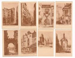 LOT 19 Eaux Fortes E. Courneau Reproduites En  Héliogravures  Sadac Pijollet éditeur La Rochelle - La Rochelle