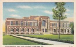 Indiana Notre Dame Rockne Memorial Notre Dame University