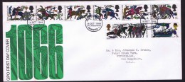 1966  Battle Of Hastings  Official FDC - FDC