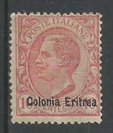 Victor Emanuel Lll 10c Rose - Eritrea