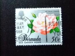 BERMUDA - BERMUDES - 1988 - FLEURS - ARCHIDUC CHARLES - Yvert Nº 527 º FU - Bermudas
