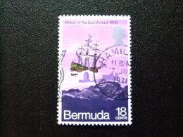 """BERMUDA - BERMUDES - 1971 - NAUFRAGE DE LA """" SEA VENTURE """" - Yvert Nº 270 º FU - Bermudas"""