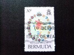 BERMUDA - BERMUDES - 1981 - BOUQUET DE MARIAGE - Yvert Nº 402 º FU - Bermudas