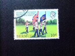BERMUDA - BERMUDES - 1982 - PORTE-DRAPEAUX - Yvert Nº 413 º FU - Bermudas