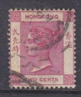 Hong Kong: Queen Victoria 1882, 2 Cents Rose- Lilac, Used - Hong Kong (...-1997)