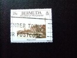 BERMUDA - BERMUDES - 1989 - PAYSAGES ANCIENS - Yvert Nº 543 º FU - Bermudas