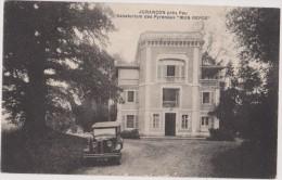 cpa,pyr�n�es-atlantiques,   juran�on,pr�s  de pau,sanatorium des pyr�n�es,mon repos,voiture ancienne