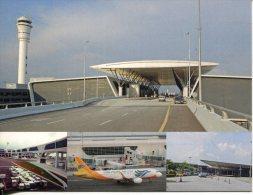Malaysia Airport - State Of Selengor - Kuala Lumpur International Airport (KLIA2) Sky Bridge + Old Terminal - Aerodrome