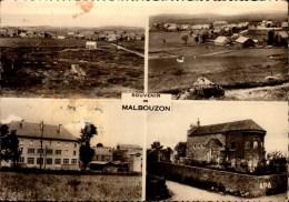 48-SOUVENIR DE MALBOUZON...4 VUES. ...CPSM GRAND FORMAT - Sonstige Gemeinden