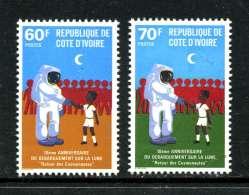 Cote D´Ivoire 1980 Y&T 529 Et 531 ** - Côte D'Ivoire (1960-...)