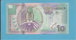 SURINAM - 10 GULDEN - 01.01.2000 - Pick 147 - UNC. - 2 Scans - Suriname