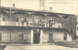 54 - LUNÉVILLE - Meurthe Et Moselle - Hôpital Militaire - Entrée - Luneville