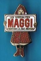 PIN´S //  . LES SPÉCIALISTES MAGGI - Food