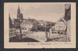 DF / 67 BAS RHIN / STRASBOURG / LE PONT DU CORBEAU / CIRCULÉE EN 1921 - Strasbourg