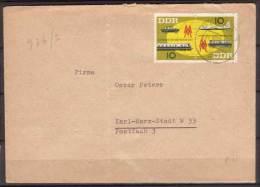 DDR , Brief , 1963 , Mi.Nr. WZD 94 ( 976 / 977 ) - Covers