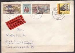 DDR , Brief , 1980 , Mi.Nr. WZD 454 ( 2532 ZF 2533 ) / 2513 MiF - Covers