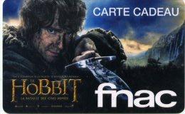 @+ Carte Cadeau - Gift Card : FNAC - Hobbit - France