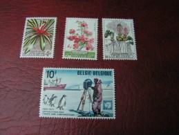 == Belgien , ** MNH Lot Flora Fauna  Pinguine - Belgien