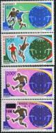 AT2876 Dahomey 1970 World Cup 4v MNH - Wereldkampioenschap
