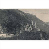ASTRATP2686-LFT2506 .Tarjeta Postal DE ASTURIAS.Vista General De La Catedral Basilica De Covadonga.Picos De Europa..ASTU - Asturias (Oviedo)