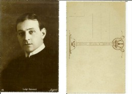 Luigi Serventi: Cartolina Fp Anni '20 (attore Regista Cinema Muto Teatro Fontana) - Actors