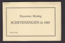 LA HAYE. PAYS BA. CARNET. PANORAMA MESDAG DE SCHEVENINGEN. 1881.CP. CARTE POSTALE. - Den Haag ('s-Gravenhage)