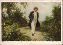 JULIUS SCHMID DER EINSAME MEISTER BEETHOVEN - Malerei & Gemälde