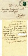 1931 SAN SEBASTIANO AL VESUVIO UNA LETTERA ANONIMA DELATORIA........................ - Military Mail (PM)