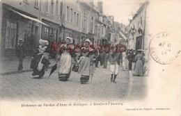 78 - MONFORT L'AMAURY - Bretonnes Au Pardon D'Anne De Bretagne - écrite 1904 - 2 Scans - Montfort L'Amaury