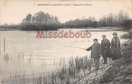 78 - MONFORT L´AMAURY - Etang De La Plaine  - écrite 1903 - 2 Scans - Montfort L'Amaury