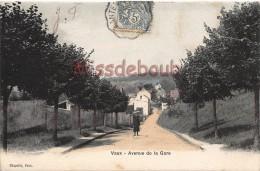 78 - VAUX - Avenue De La Gare - écrite 1905 - 2 Scans - Vaux De Cernay
