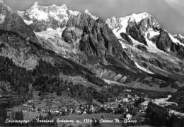 Courmayeur. Frazione Entreves E Catena M. Bianco - Italia