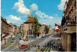 Suisse - Lausanne Place Et église St François - VD Vaud