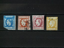 ROUMANIE - 1869/1871 N° 23 + 26/27 (n° 22 Coupé Offert - Voir Scan) - 1858-1880 Fürstentum Moldau
