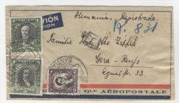 Chile Brief 1933 von Santiago nach Deutschland Sachsen